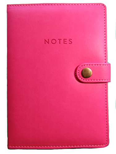 Price comparison product image Coral Pink Leatherette Magnetic Clasp Journal ~ 8.5 x 6 inches