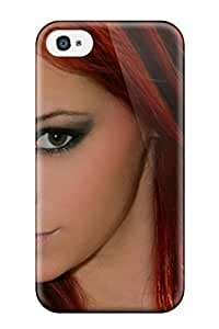 New Style Tpu 4/4s Protective Case Cover/ Iphone Case - Arielle Closeup SHot Selling
