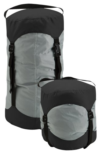 (Nelson-Rigg CB-02-MD Grey/Black Compression Bag, Medium)