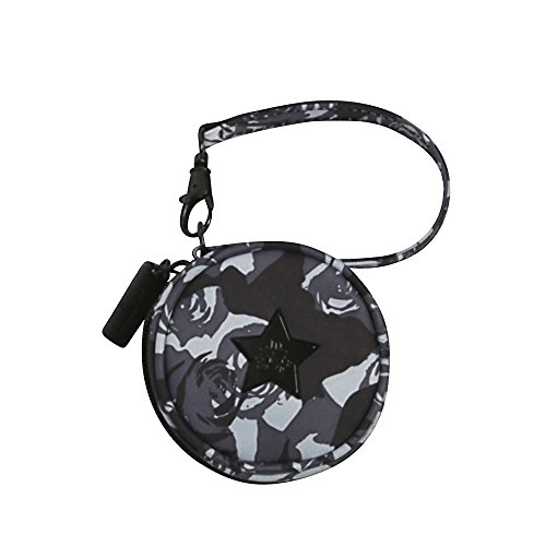 Ju-Ju-Be Onyx Collection Paci Pod Pacifier Holder, Black Petals