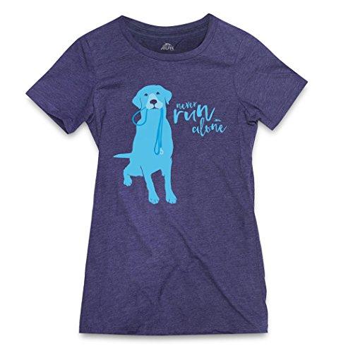 Gone For a Run Runners Tee Womens T-Shirt | Never Run Alone | Stormindigo | Adult Small