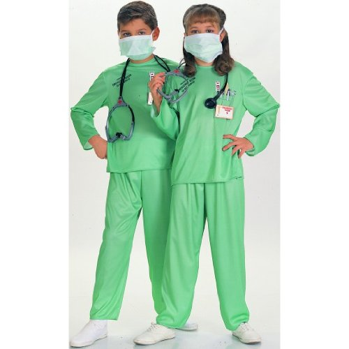 E.R. Doctor Costume - Medium (Nurse Costume For Kids)