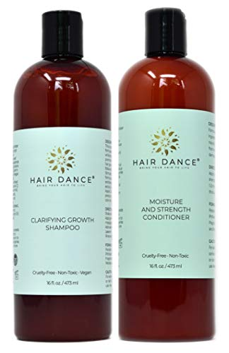 Clarifying Growth Shampoo and Strength Conditioner (16ozCombo)