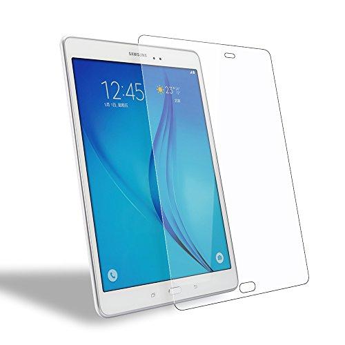 Samsung Galaxy Tab A 9.7 Screen Protector, WEOFUN Premium Tempered Glass Screen Protector for Samsung Galaxy Tab A 9.7 T550 T555 Glass 2015 [2.5D Round Edge, 0.33mm]