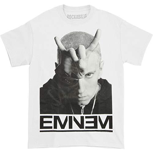 Eminem Finger Horns Adult T-Shirt