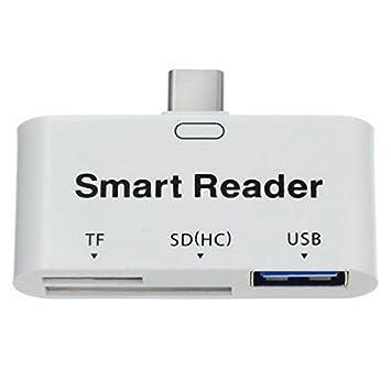 Sistema de S USB 3.1 Type C a TF lector de tarjetas SDHC Card ...
