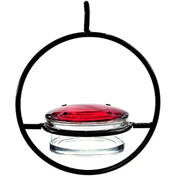 Couronne Company M045-301 3.4 oz Recycled Glass Hummble Slim Hummingbird Feeder