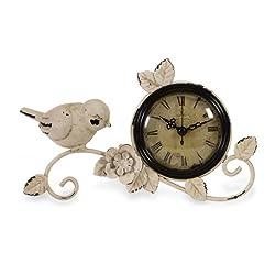 IMAX 16103 Bird Tabletop Clock