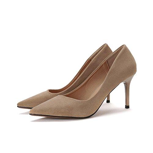 High schuhe Bbdsj Profi Zinke Heels High Sexy Fashion High Heels Heels Heels Wildleder Frauen Womens qT6w0