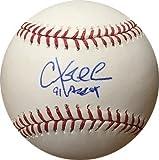 Chuck Knoblauch Signed Baseball - Official Major League 91 AL ROY minor bleed ) - Autographed Baseballs