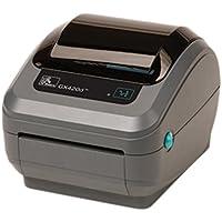 Zebra GX430t Monochrome Desktop Direct Thermal/Thermal Transfer Printer with Serial/USB/Ethernet Ports, 4/s Print Spd, 300 dpi Print Res, 4.09 Print Width, 100-240V AC