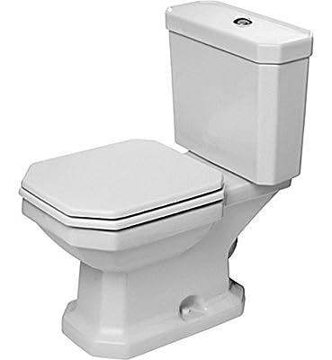 Duravit 2130010000 Two-Piece Toilet, White