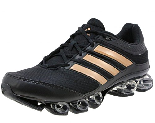 Adidas titano uomini scarpe da corsa, nero / rose d'oro metallico / nero