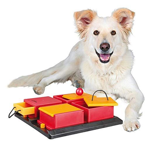 Trixie Poker Box Interactive Dog Toy Puzzle (Level ()