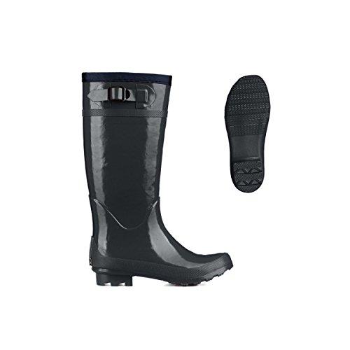 Superga 792-Rbrw, Zapatillas Altas para Mujer Dk Grey