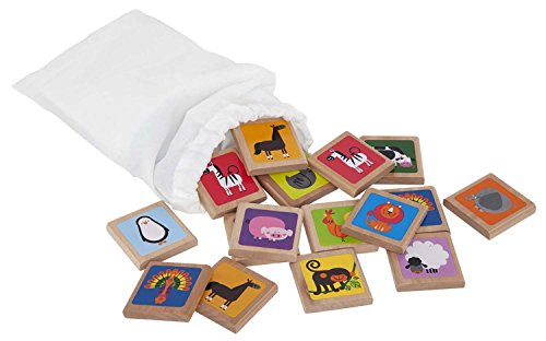 Hape Animals Wooden Memory ()