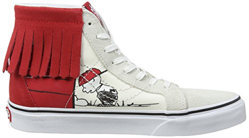 Peanuts Moc Women's House hi Bone Vans Dog Peanuts Trainers Multicolour Sk8 TIqdq5
