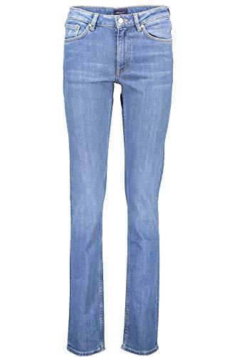 Blue Jeans Mujer Blau 981 Denim Slim Gant qHp6w