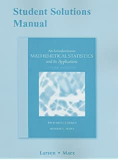 Amazon introduction to mathematical statistics and its student solutions manual for introduction to mathematical statistics and its applications fandeluxe Image collections