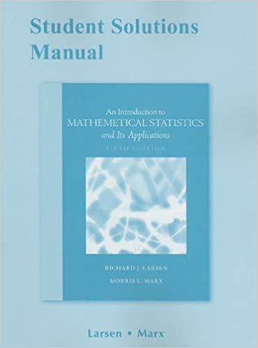 Amazon student solutions manual for introduction to student solutions manual for introduction to mathematical statistics and its applications 5th edition fandeluxe Image collections