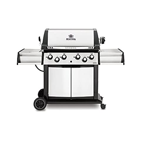 Broil King 988847 Sovereign XLS 90 Natural Gas Grill with Side Burner and Rear Rotisserie Burner - Thermos Bbq Grills