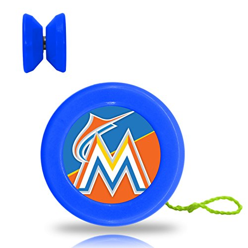 WaGee YOYO Marlins Classic Yo Yo Velocity Fun Toy Kids Rope Plaything Blue