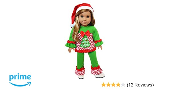 """Deer Heavyknit Sweater for 18/"""" Doll Clothes American Girl"""