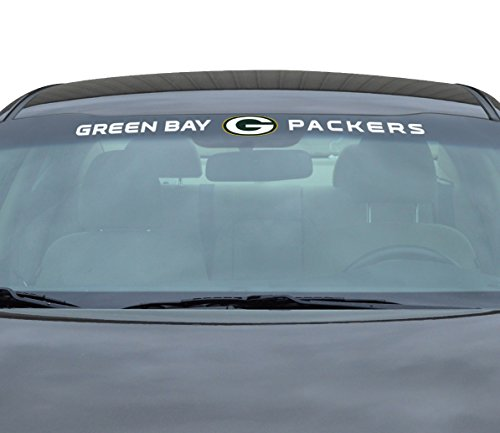 (Team ProMark NFL Green Bay Packers Windshield Decal, Yellow, Standard)
