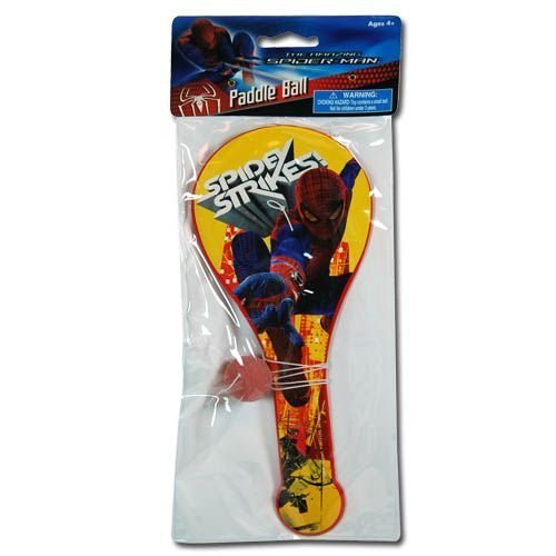 The Amazing Spiderman Paddle Ball
