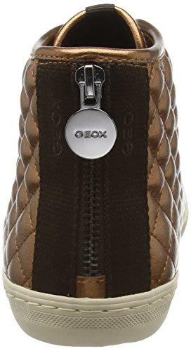 GeoxDonna New Club - Zapatillas altas mujer Marrón - Brown (Copper)