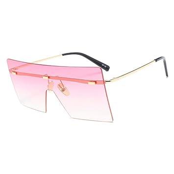 MINGMOU Gafas De Sol Grandes De Una Pieza con Lentes De Sol ...
