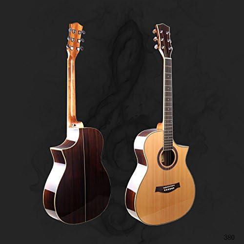 GFEI La guitarra de abeto Fondo _ angulo guitarra 102 cm: Amazon ...