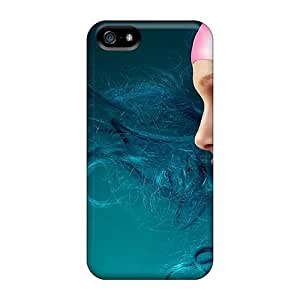 FDVzJyN7967lNmkl Faddish Girl Makeup Effects Case Cover For Iphone 5/5s