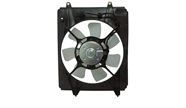 Fits 2012-2015 Honda Civic A//C Condenser Fan Assembly Right Four Seasons 97641NB