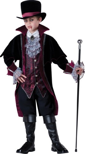 InCharacter Costumes Boy's Vampire Of Versailles, Black/Red, 14 by Fun World (Image #1)
