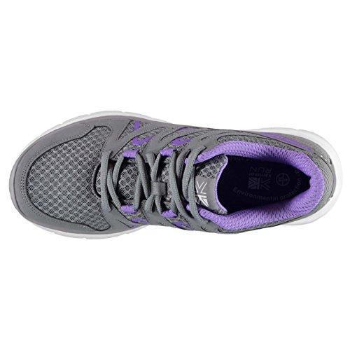 Karrimor Pour Running Violet De Femmes Baskets Course Chaussures Duma Gris Tn14wqTP