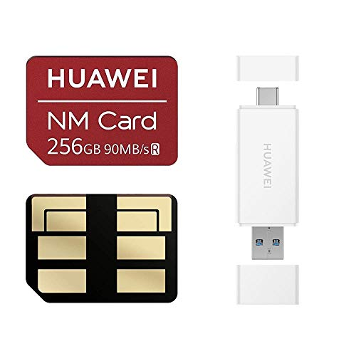 Huawei NM Card 64G 128G 256G 90MB/S Nano Memory Card Mirco SD Card Compact Flash Card, only Suitable for Huawei P30 Series and Mate20 Series, 256G (2 in 1 Reader) by HUAWEI (Image #9)