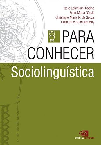 Para Conhecer Sociolinguística