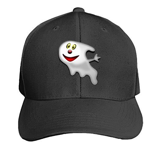 Baseball Caps, Women Men Unisex Ghost Halloween Creepy Face Snapback Hats Baseball Caps ()