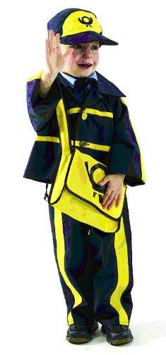 Postbote 4tlg Gr 92 Kostum Karneval Kinder Kinderkostum Fasching