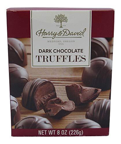 (Harry & David Dark Chocolate Truffles, 8 Ounce Gift Box)