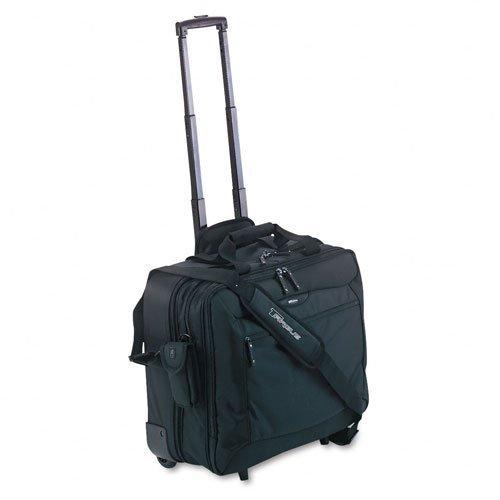 Targus : Rolling Travel Notebook Case, Nylon, 18 x 10 x 15, Black -:- Sold as 2 Packs of - 1 - / - Total of 2 (Targus Rolling Travel Notebook Case)