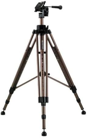 Smith Victor Propod PRO-3 Medium Tripod with 2-Way Fluid Head Supports 20 lbs, Maximum Height 68