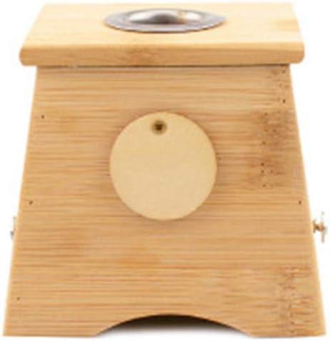 SHDT Multi-Site Moxibustión Caja, Bambú Agujero De La Caja para La Curación Moxa Moxibustión Terapia De La Medicina, Cinco Especificaciones,A: Amazon.es: Hogar