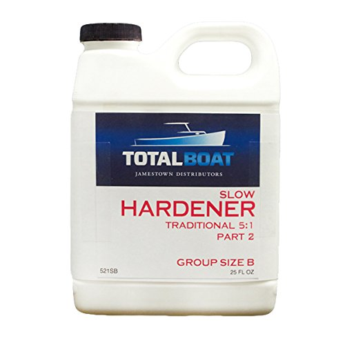 TotalBoat 5:1 Epoxy Slow Hardener (6 Ounces (for Quart of resin))