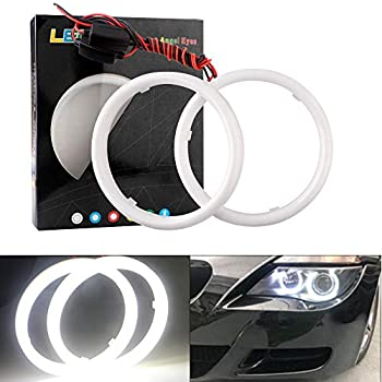 Luces frontales ojos de /ángel COB LED para coches de 12/V//24/V ZXREEK
