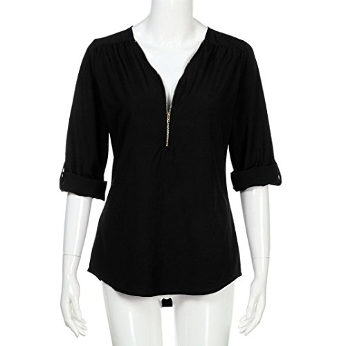 Damen Multicolore SANFASHION Shirt145 Multicolore Bekleidung Ballerine Nero Donna SANFASHION 07qxE10B
