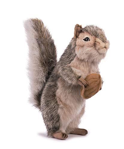 Hansa Squirrel Plush, 8 quot;, Gray