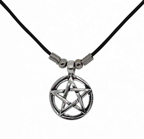 Gothic Necklace Pentagram