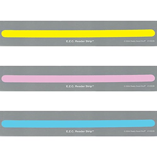 Really Good Stuff E.Z.C. Guided Reading Strips- 90 Strips